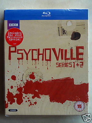 PSYCHOVILLE: Series 1+2+Halloween Special [REGION-FREE] (Blu-ray)~~~NEW & SEALED - Halloween Specials Tv Shows