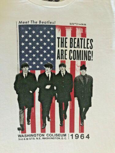 Meet The Beatles Shirt Old Navy Collectabilitees Large Washington Coliseum 1964