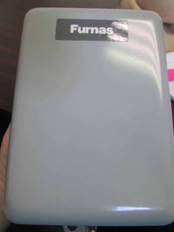 Furnas Siemens 42CE35AG106 Definite Purpose Contactor with Enclosure 40 amp