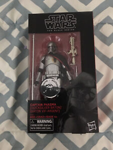 Star Wars Black Series 6-inch Captain Phasma (Quicksilver Baton)