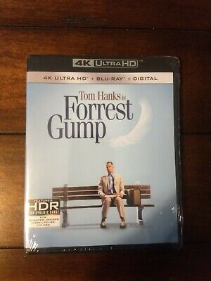 Forrest Gump (4K Disc, Blu-ray) NEW