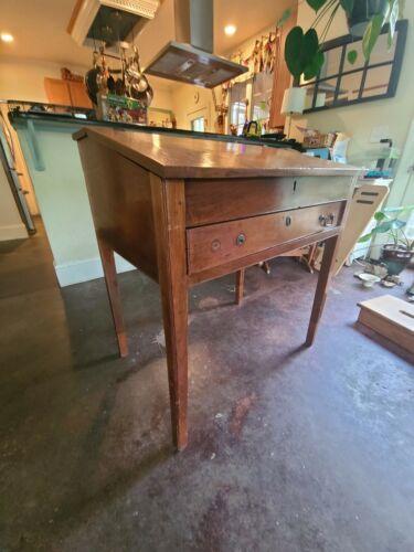 Antique Slant Top Desk. Secretary,.Plantation Desk 18th Century 19th Century