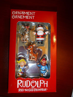 """Rudolph the Red Nosed Reindeer  """"Mini Set""""  American Greetings 2009 ornament"""