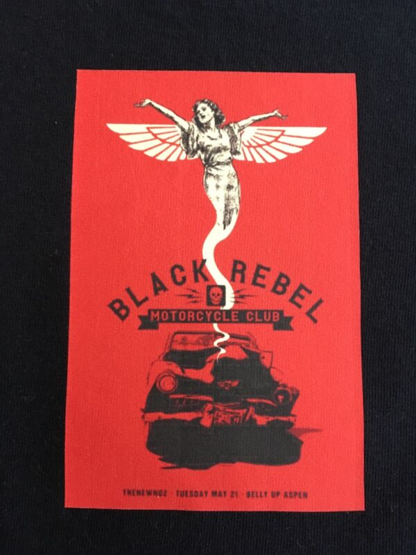 Black Rebel Motorcycle Club - Logo t shirt / Black / Small size