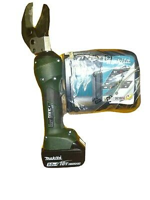 18v Greenlee Gator Es32x Hydraulic Cable Wire Cutter Charger  Battery 5.0