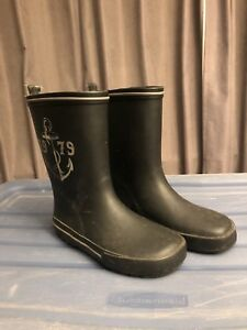 Boys rubber boots size 1