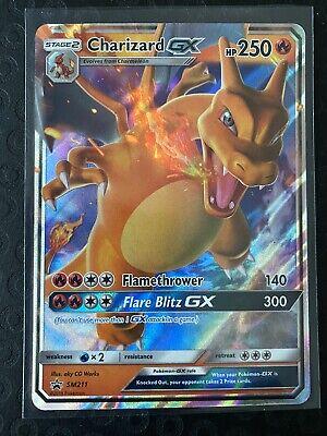 Pokemon Charizard GX Promo - Pokemon Hidden Fates Tin Promo SM211 Pokemon Card