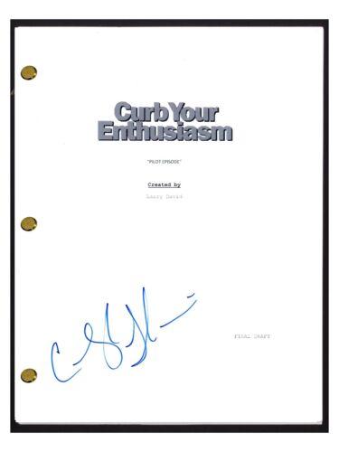 Cheryl Hines Signed Autographed CURB YOUR ENTHUSIASM Pilot Episode Script COA