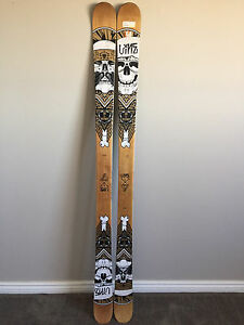 Skis:  Line Step Up Twin Tip