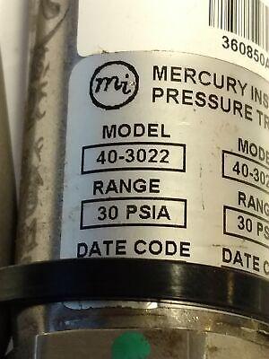 Honeywell 40-3022 Pressure Transducer