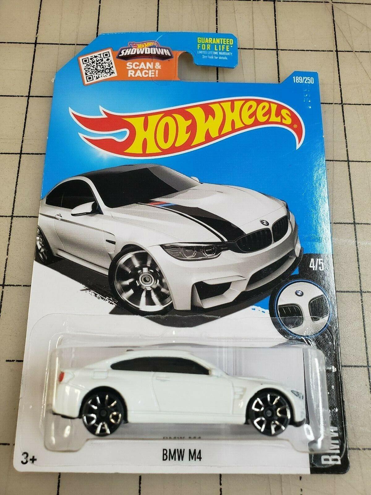 Hot Wheels 2016 BMW M4 White HW BMW 4/5