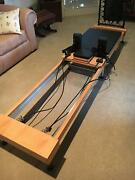 PILATES FOLDABLE REFORMER GYM BENCH Kewdale Belmont Area Preview