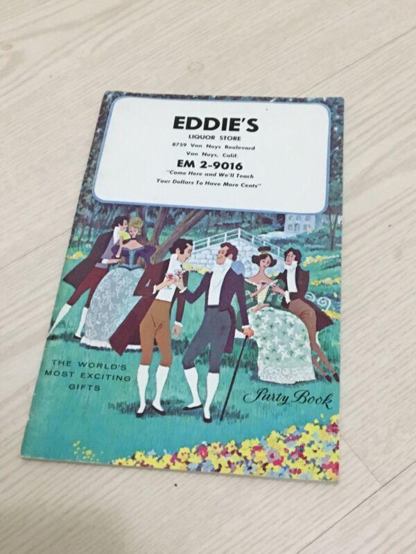 1965 EDDIE'S Liquor Store Catalog California