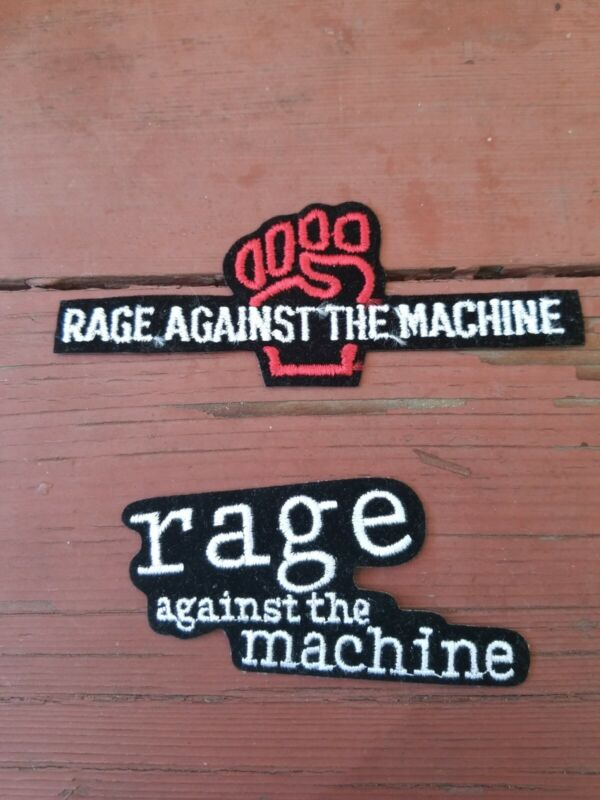 RAGE AGAINST THE MACHINE SET OF 2 PATCHES