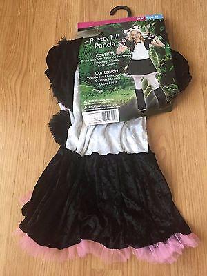 Rubie's Pretty Lil' Panda Child Dress Up / Role Play Costume Small 4-6 #1070