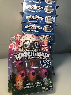 Hatchimals HATCH BRIGHT CollEGGtibles Season 4: 4+1 Bonus Pack