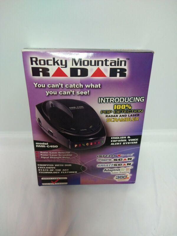 Rocky Mountain Radar Micro-Scan Smart-Scan Model RMR-D312. LAZER scrambler