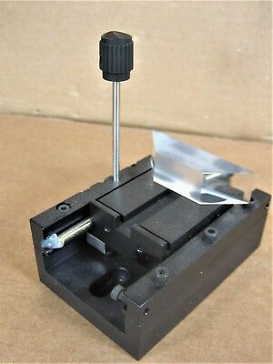 Optical Linear Stage 3-12l X 2-38w X 3-78 Overall Ht 14 Mounting Slots