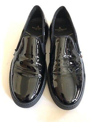Louis Leeman Men's Patent Leather Slip On Shoes Size 42.5 US 10