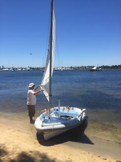 Walker Bay 10 with sail kit