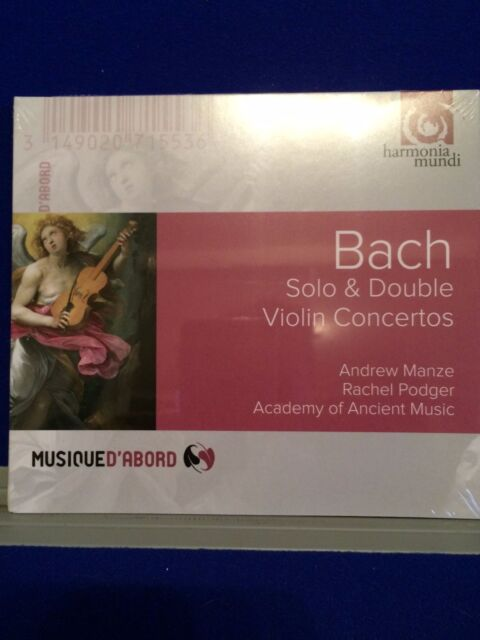 NEU VERSIEGELT Bach Solo & Doppel Violine Concertos 2016 CD Audio
