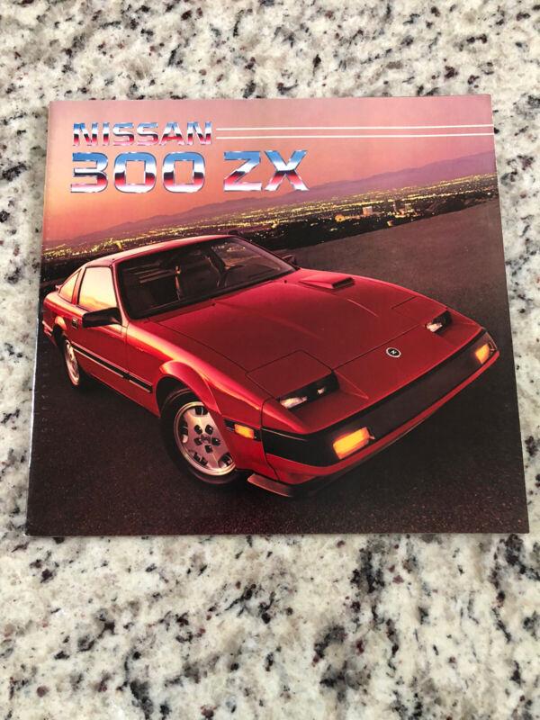 1985 Nissan 300 ZX Sales Brochure