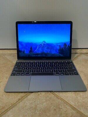 "2015 Apple MacBook 12"" retina display."