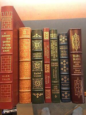 My African Journey  Winston Churchill  Full Leather  Easton Press