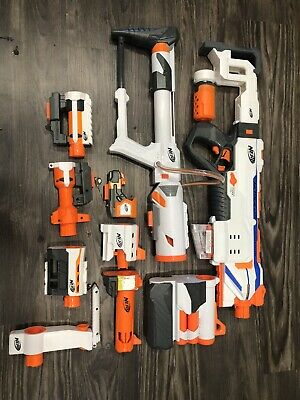 Nerf Modulus Plus Attachments Lot