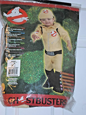 Halloween Ghostbusters Toddler Boys Costume Sz 6-12 Mos