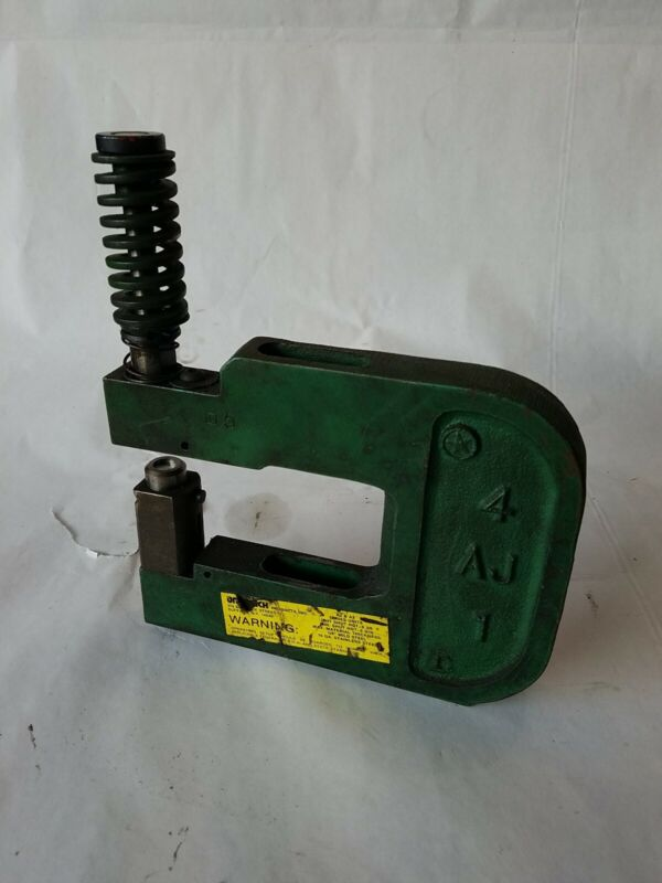 UNIPUNCH 4 AJ 1 AJ SERIES METAL STAMPING PUNCH WITH .4375 ROUND PUNCH AND DIE NP