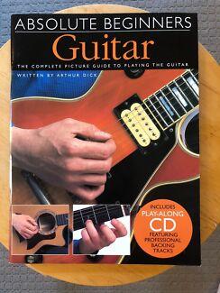 Learn Guitar Books. Guitar Method and Absolute Beginners Guitar.