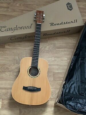 Travel Acoustic Guitar 3/4 size RRP £199 with  Fitted Gig Bag