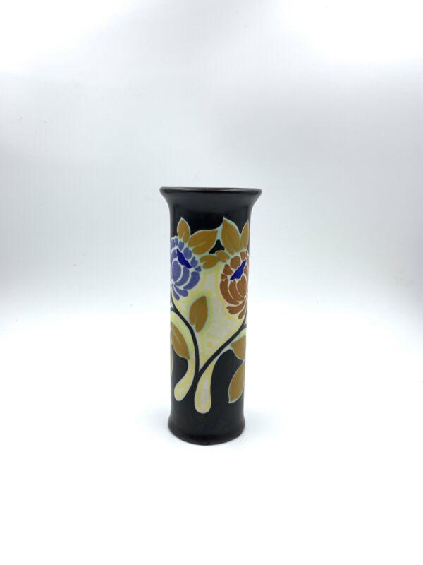 Gouda Design Schoonhoven Holland Art Pottery Flower Vase