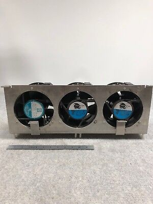 Comair Rotron 12-796524-11 Ma2b3 115v- Has 6 Fans Attached To Casing.