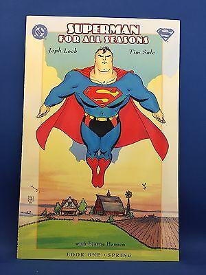 Superman for all Seasons Book One bis Four im Paket (USA) Comics für Erwachsene