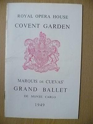 Covent Garden BALLET 1949-LES SYLPHIDES/MAD TRISTAN/DESIGNS WITH STRINGS/LA FILL