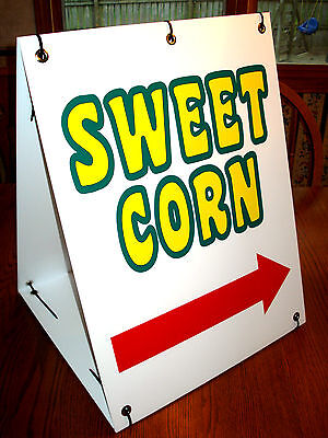 Sweet Corn With Arrow Sandwich Board Sign Kit  25 Off 3 Or More
