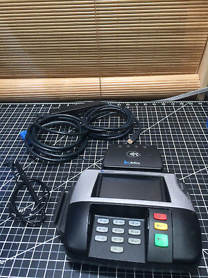 Verifone Credit Card Terminal With Pen And Card Tap Mx860