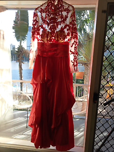Red ball gown Kangaroo Point Brisbane South East Preview