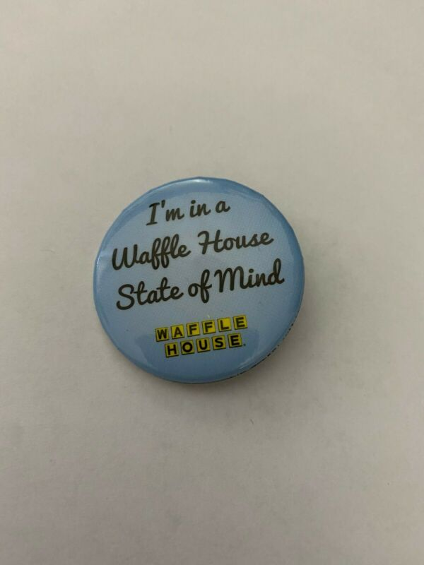 "Waffle House Employee Pin Button ""I"