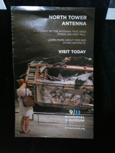 a pc NORTH TWIN TOWER ANTENNA Sept 2001, from cutout/pic 9/11 Memorial Museum AD