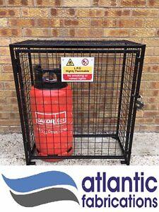 2 x Propane 19kg Gas cage -Bottle cylinder storage   870 h x 800 w x 400d