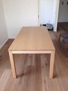 Tasmanian Oak solid timber 8 seater table Little Bay Eastern Suburbs Preview
