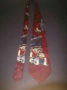 Fred and Barney neck tie