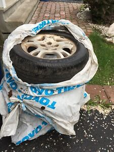 Three Grand Caravan summer tires for sale