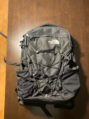 The North Face Borealis Backpack Black 28L Laptop Padding and Interior Pockets
