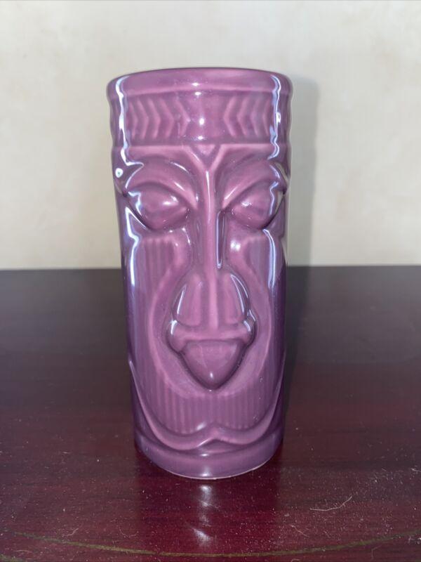Vintage Tiki Mug Cup Purple Accoutrements 2001