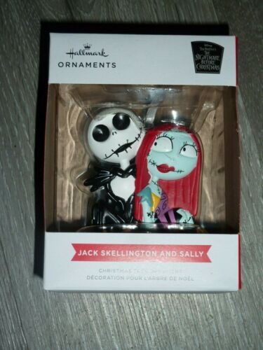 2021 Hallmark Ornament - Jack Skellington and Sally Nightmare Before Christmas