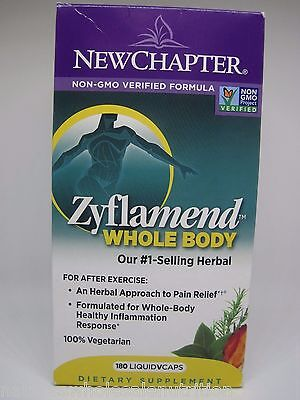 New Chapter Zyflamend Whole Body 180 Capsules for sale  Shipping to South Africa